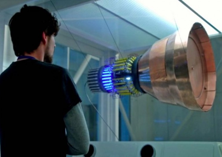 The SpaceDrive Project – First Results on EMDrive